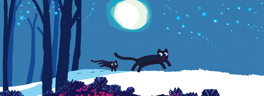 Stunning new limited editions by illustrator and author Chris Haughton. Early bird offer, buy the set: Sunset Glow and Moonlit Snow for £150!