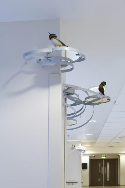 Ruth Claxton, Nests (Spectrum Flock), 2012