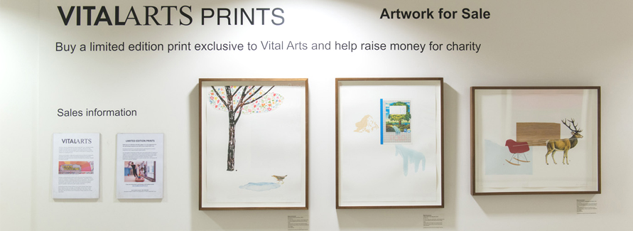 By buying artwork from us you will also be helping to fund our arts programmes for patients and staff and other health related charities
